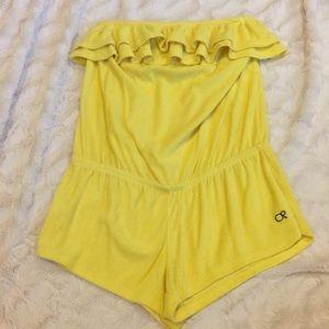 Juniors swimwear coverup (romper)